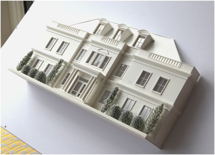3d Model Houses Miniature Buildings Little House London