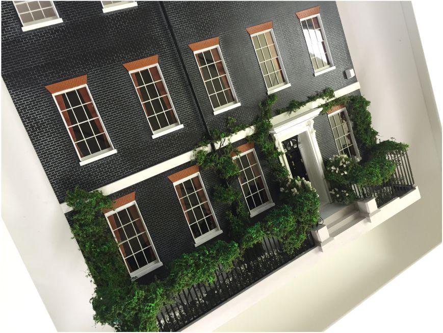 3d model houses miniature buildings little house london